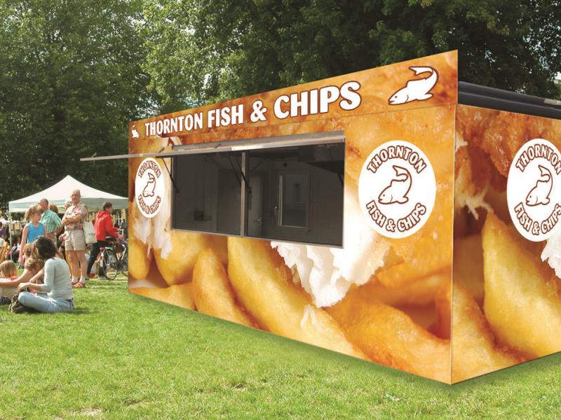 Kiosks can be branded to corporate in-house styles or to match their surroundings.